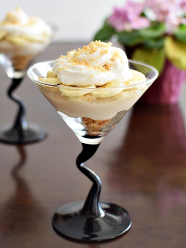 Banana Cream Pie Parfaits