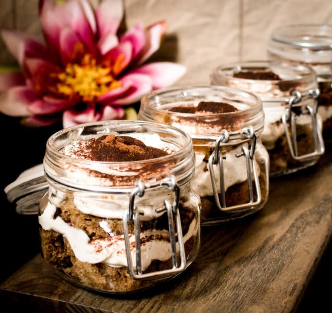 Orange Tiramisu Trifle