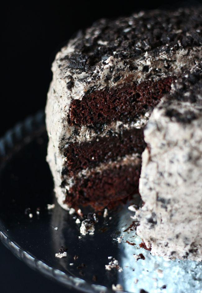 Easy Chocolate Oreo Cake