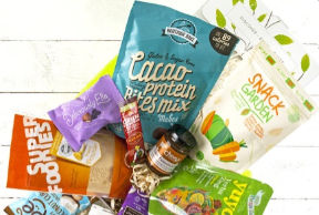 vegan snack box - The Goodness Project
