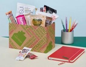 vegan snack box - The Nutribox