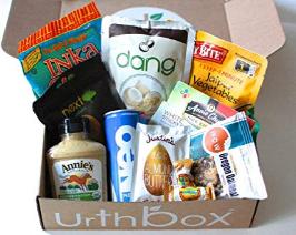vegan snack box - Urthbox