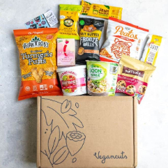 vegan snack box - Vegan Cuts