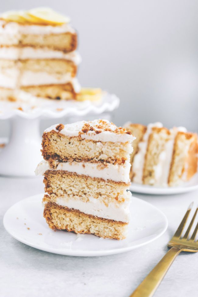 Lemon Cream Layer Cake