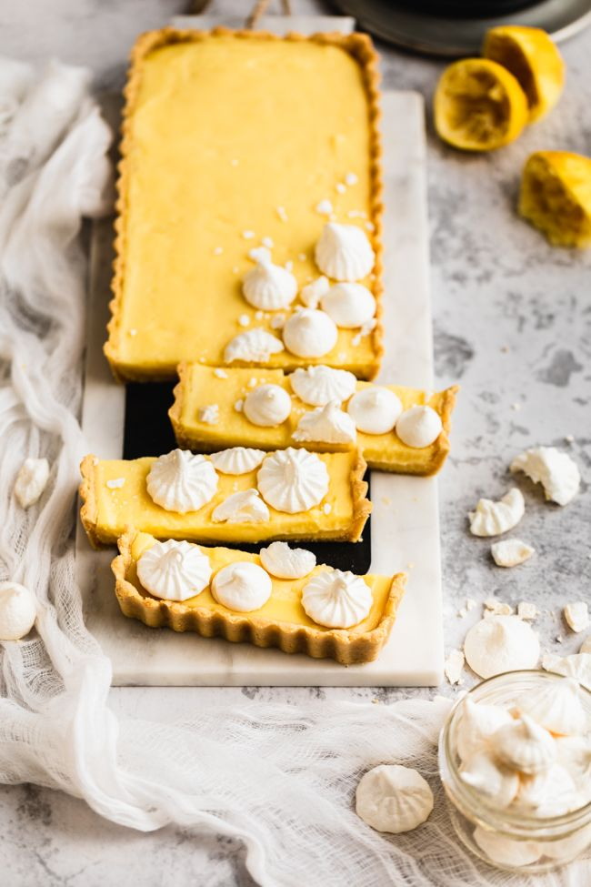 Healthy Lemon Tart