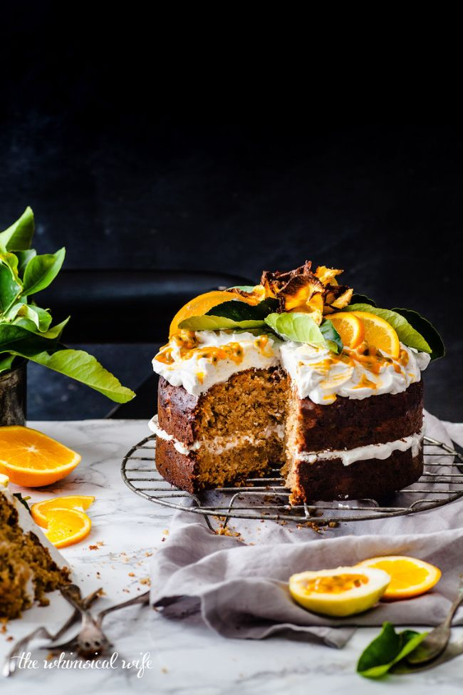 Humming Bird Cake With Zesty Lemon Coconut Cream