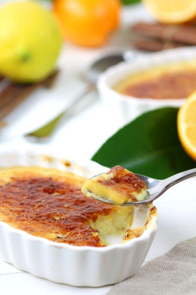 Meyer Lemon Crème Brûlée
