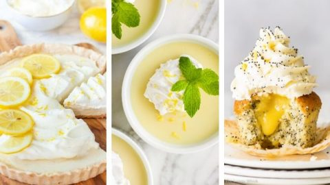 vegan lemon dessert recipes for Spring
