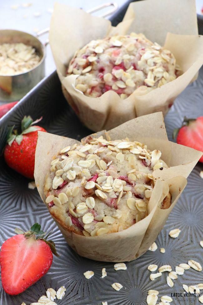Strawberry Rhubarb Muffins 12. Cobbler