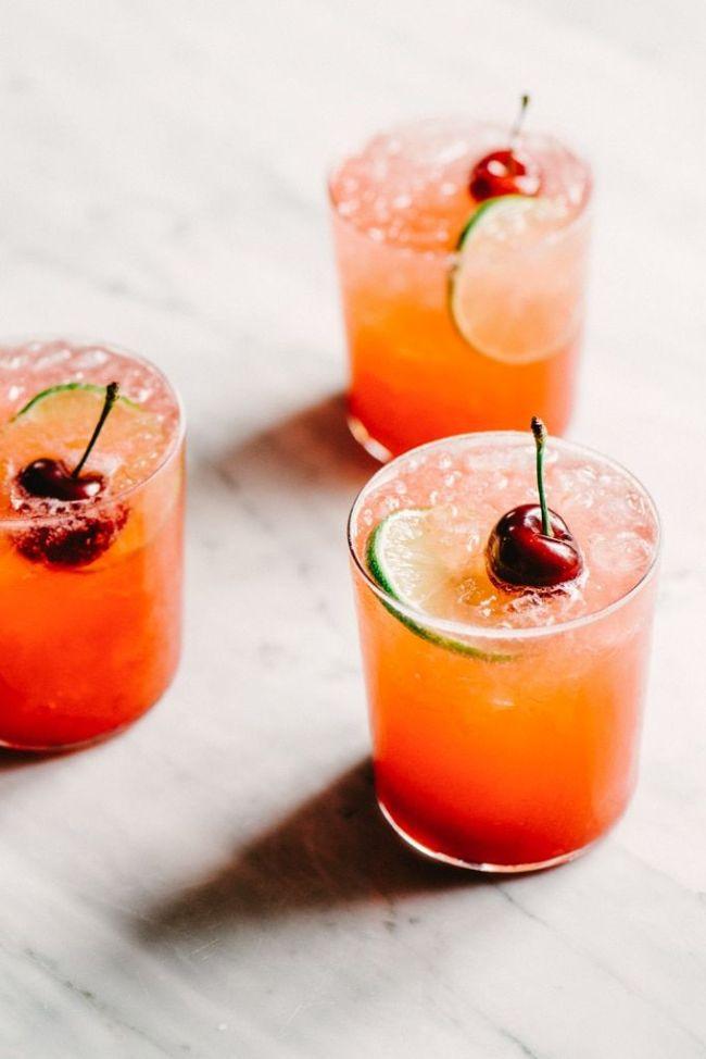 Cherry Gin Rickey