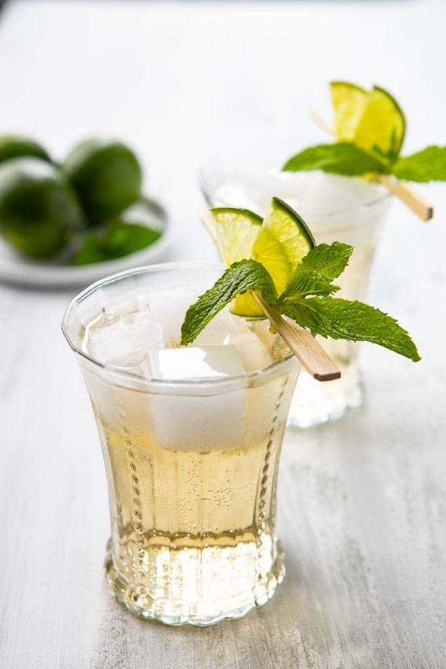 Lime and Mint Gin Mule