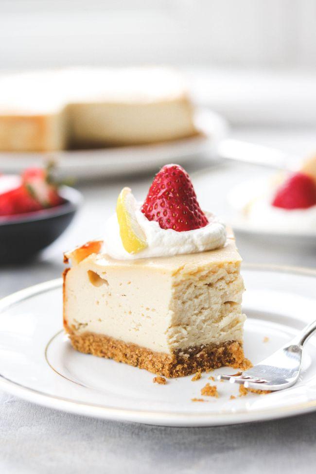 Basic Cheesecake with Tofu