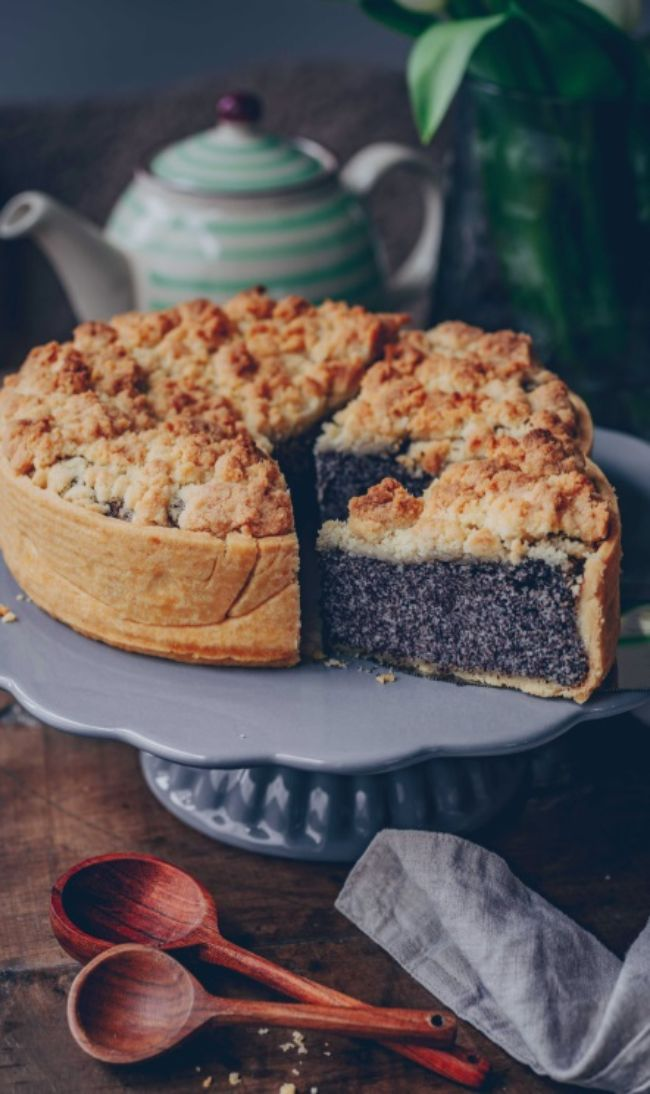Poppy Seed Cheesecake