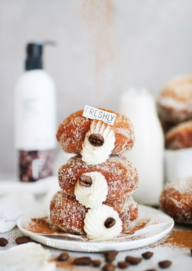 Coffee Cream Donuts