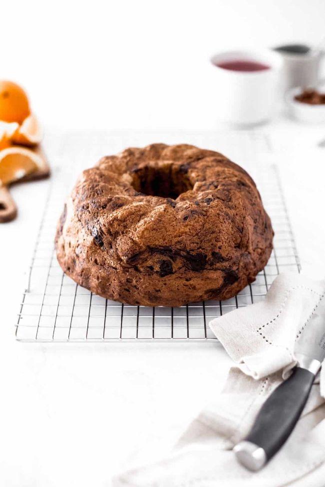 Chocolate Brioche Bread