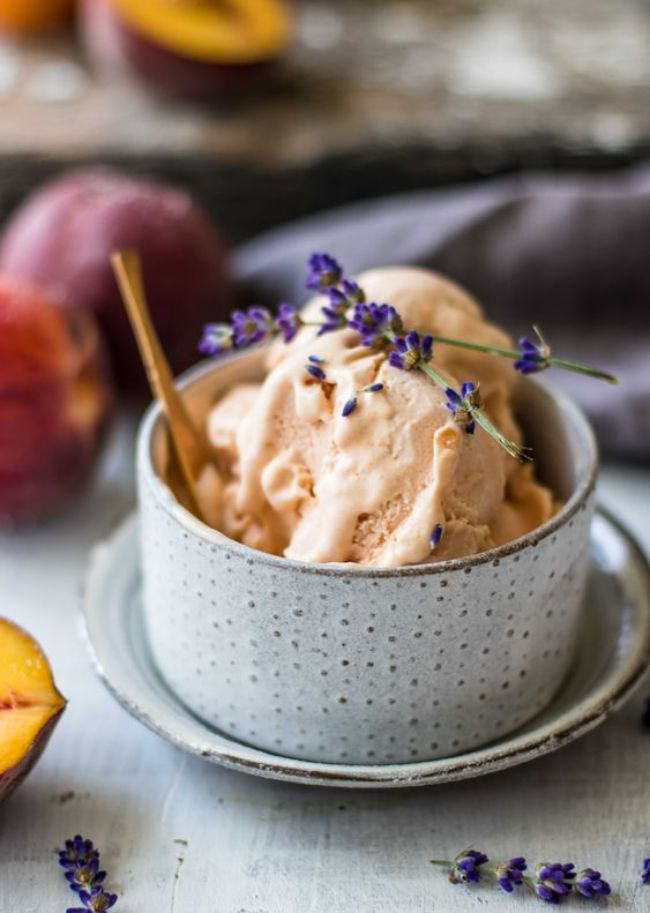 Peach Apricot Ice Cream