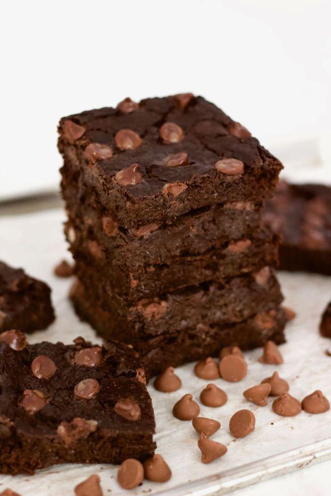 FlourlessBlender Brownies