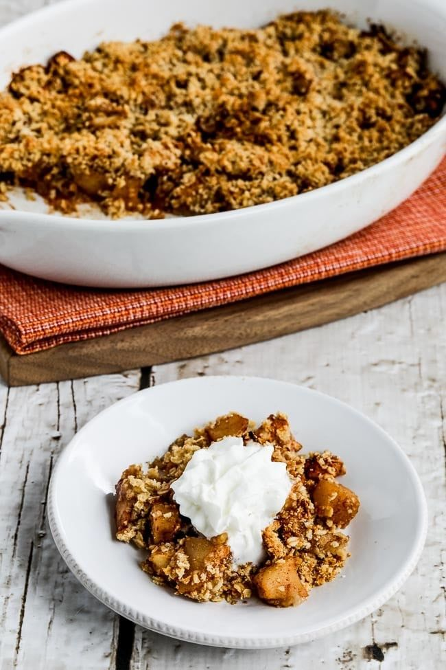 Flourless Apple Crisp
