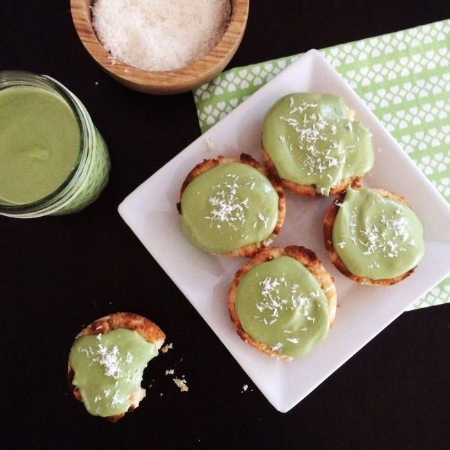 Coconut Matcha Cucpcakes