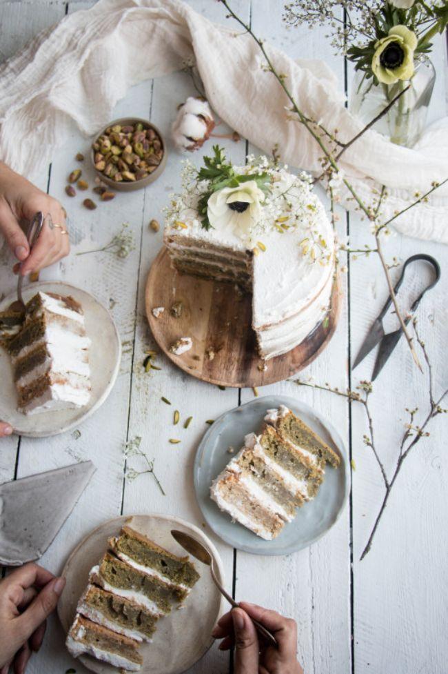 Matcha Tres Leches Cake