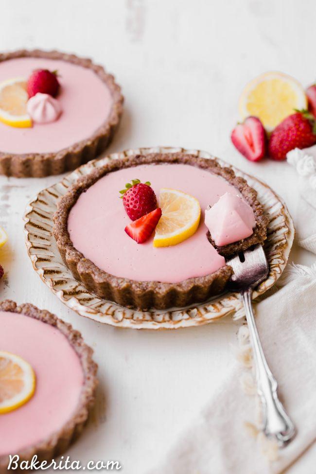 Strawberry Lemonade Tarts