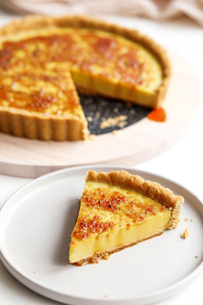 Crème Brûlée Tart