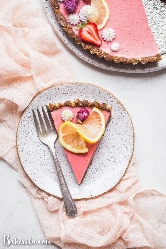 Strawberry Lemonade Tart