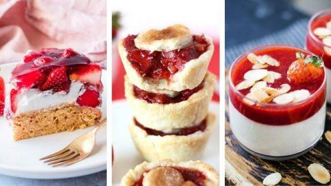 Vegan Strawberry Dessert Recipes