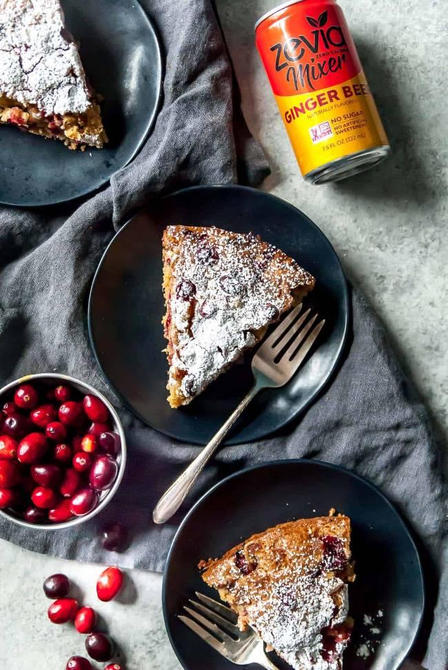 Cranberry Ginger Cake
