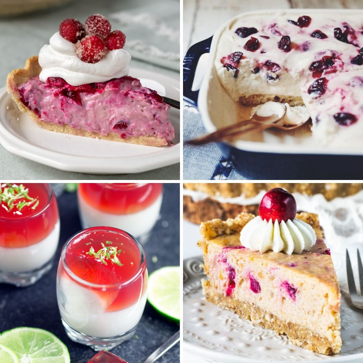 vegan cranberry recipes for dessert